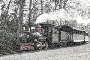 Sam Houston Railroad Six Flags Over Texas