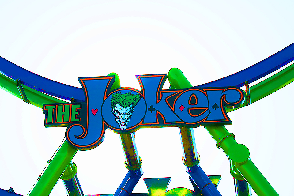 Joker Sign, Six Flags Over Texas